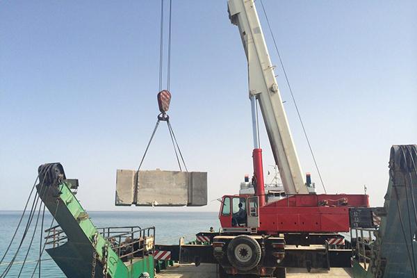 Long Boom Crane in Gujarat - Ahmedabad