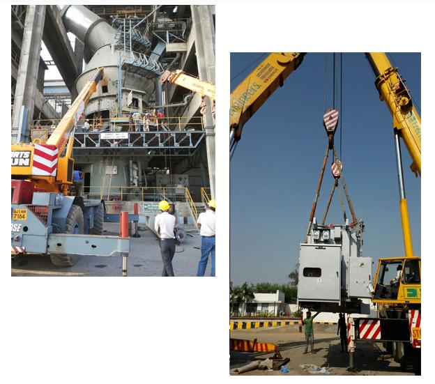 Crane Rental Agency,Heavy Machinery Lifting Work