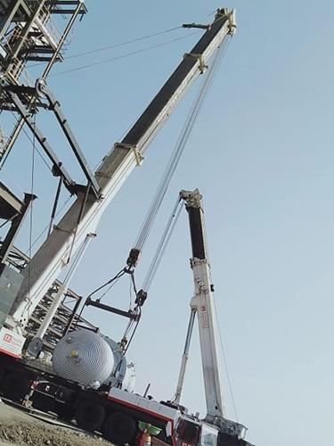 #alt_tagTruck Mounted Crane Manufacturer in Gujarat